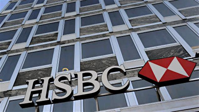 8,000 HSBC employees out of 48,000 employees who work in the bank's UK branches will be affected (AFP Photo)