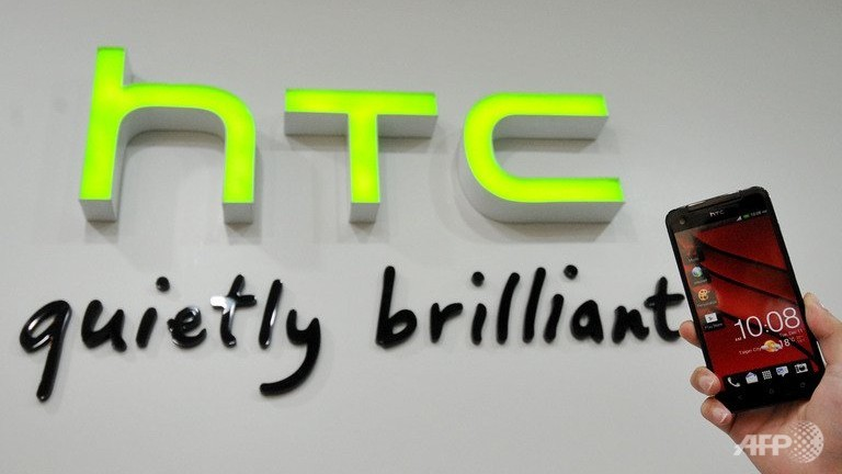An HTC store in the New Taipei City on January 7, 2013. (AFP/File/Mandy Cheng)