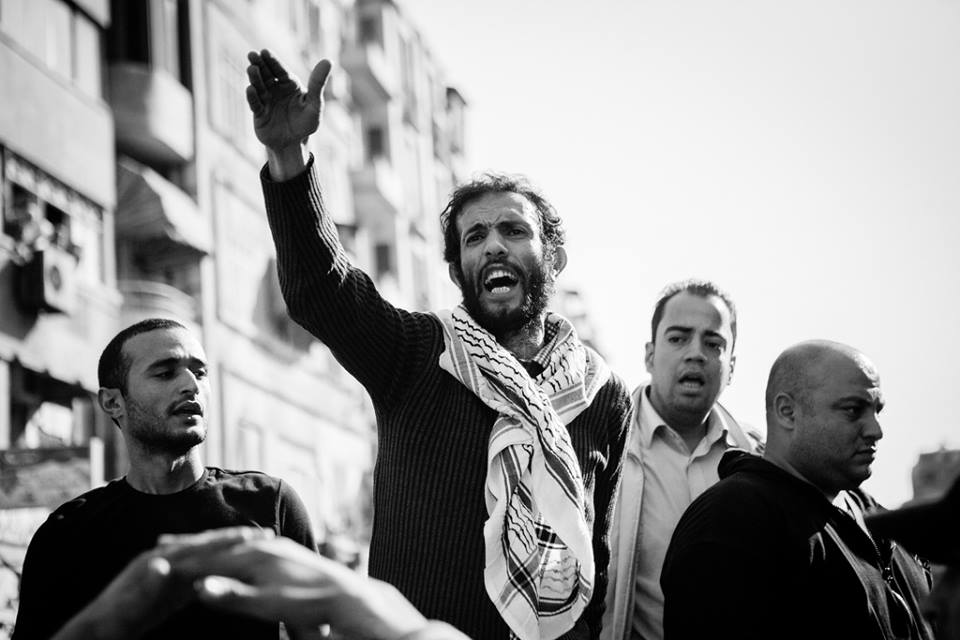 Labour rights lawyer and Revolutionary Socialists (RevSoc) member, Haitham Mohamedein  (Photo from Revolutionary Socialists (RevSoc) Facebook Page)