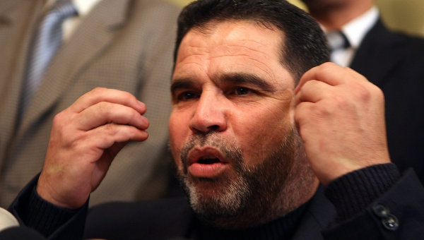 Hamas leader Salah Al-Bardawil denied that his party had been affected by the Egyptian armed forces in the current period following former president Morsi's ouster, denying accusations by Fatah. (AFP Photo)