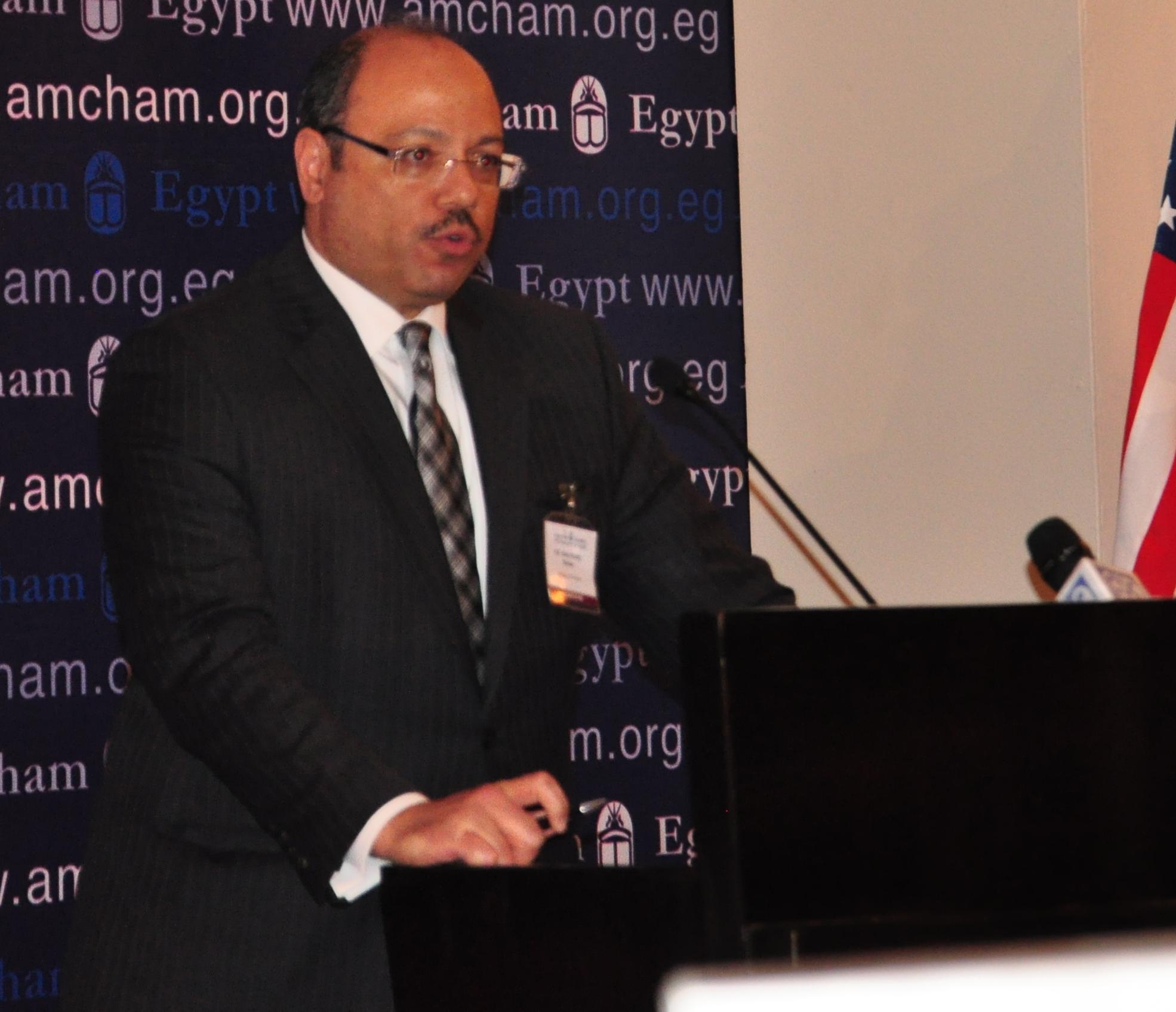 Finance Minister Hany Kadry Dimian  (DNE Photo)