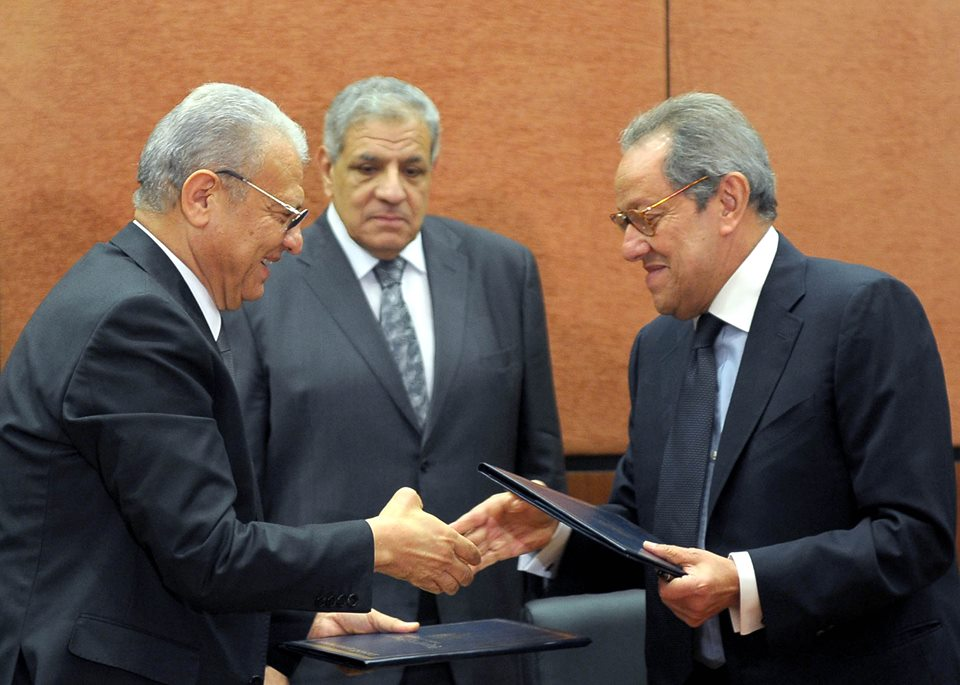 Minister of Communication and Information Technology Atef Helmy signed a EGP 15m agreement with Minister of Industry, Foreign Trade and Investment Mounir Fakhry Abdel Nour