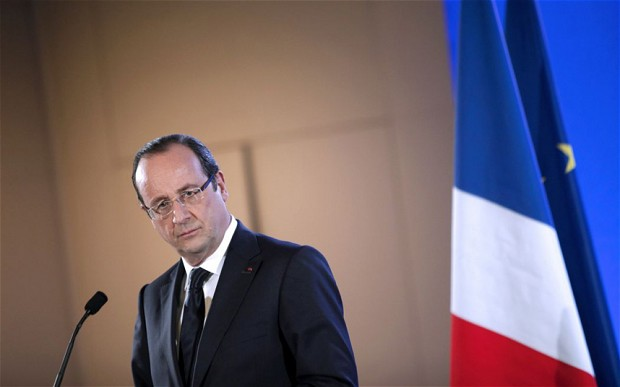 French President Francois Hollande. (AFP Photo)