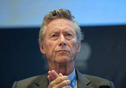 The IMF's chief economist, Olivier Blanchard, attends the Institute of International Finance (IIF) Spring membership meeting in Paris on June 25, 2013  (AFP, Eric Piermont)