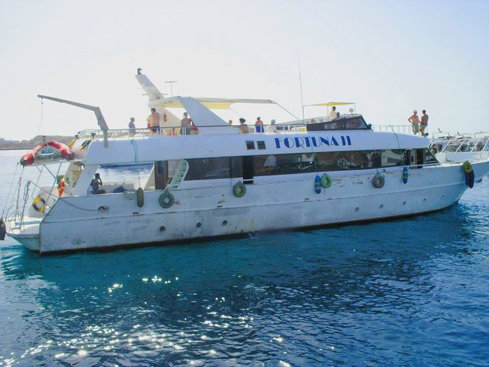 The cruise trip to and from Tiran island takes two hours; however, a special permit is required to visit the island (DNE Photo)