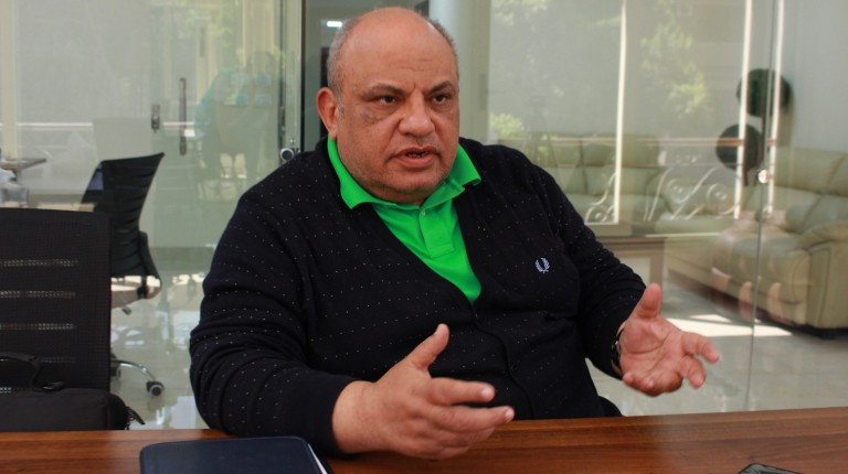 Assem Khalifa, the head of the Egyptian Squash Association