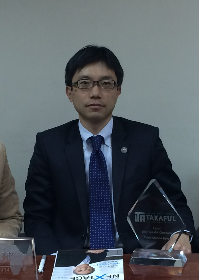 Masaya Inagaki, Managing Director of Tokio-Marine Family Takaful, Egypt (DNE Photo)