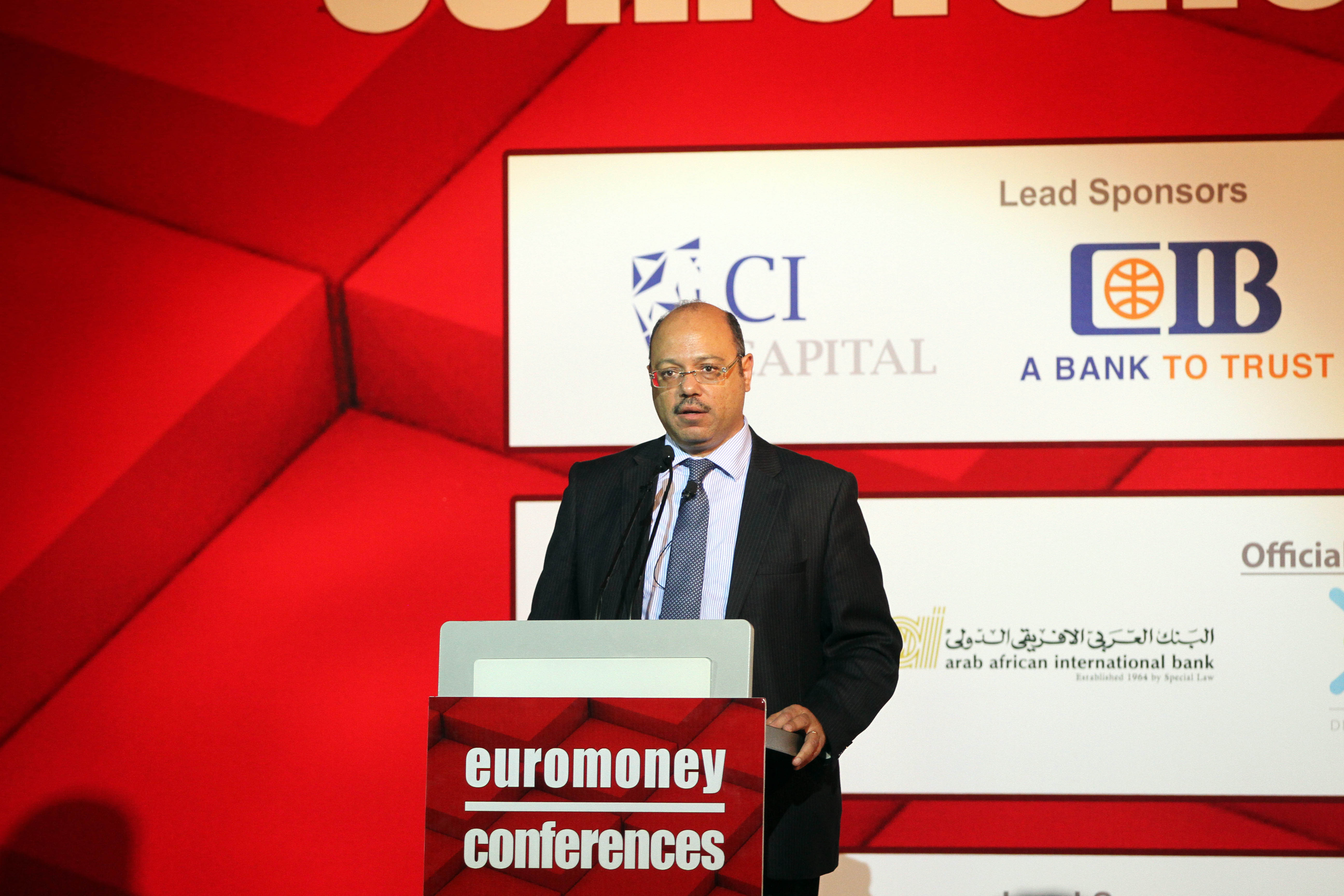 "Egypt has received ""many offers"" to issue dollar bonds in foreign markets, Minister of Finance Hany Kadry Dimian told Daily News Egypt Tuesday on the sidelines of the Euromoney conference. (DNE Photo)"