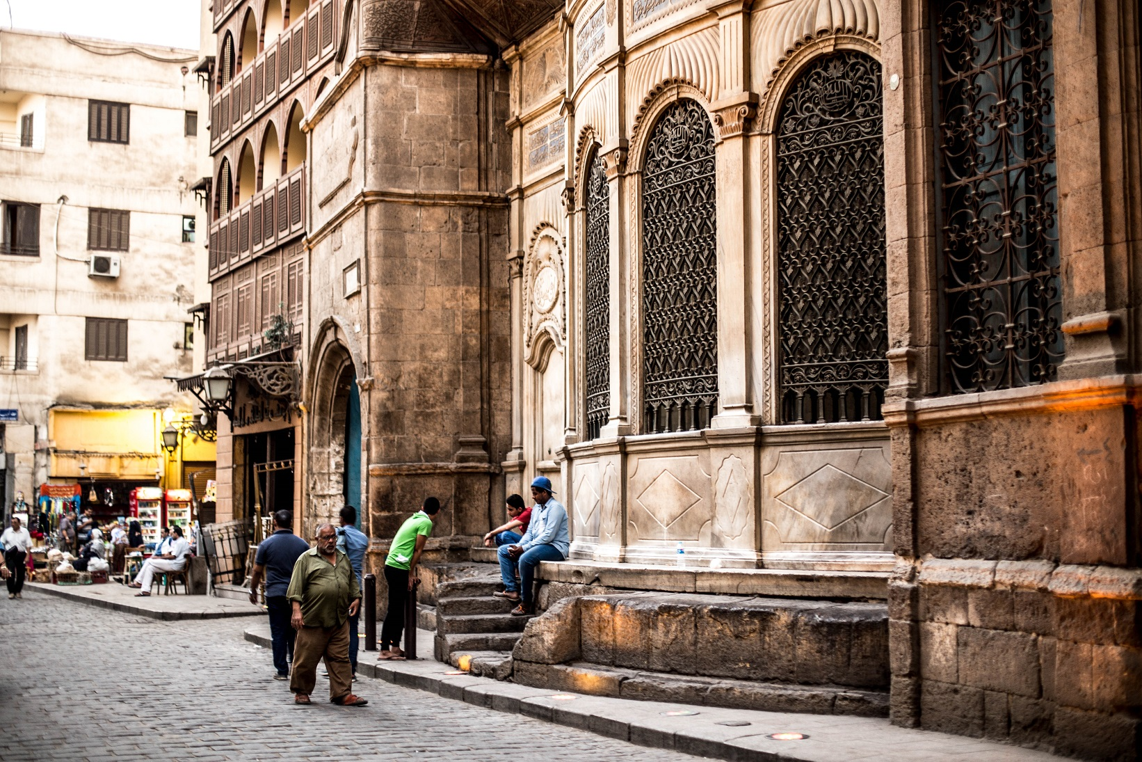 Moez Street has been considered the backbone of Cairo since the city was first build, and one of the most significant touristic markets in Egypt, where tourists can find Egyptianhandicrafts, jewellery and souvenirs. (DNE Photo)