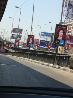 The number of billboards on the streets advertising different Ramadan TV series' were found to irritate many (DNE Photo)