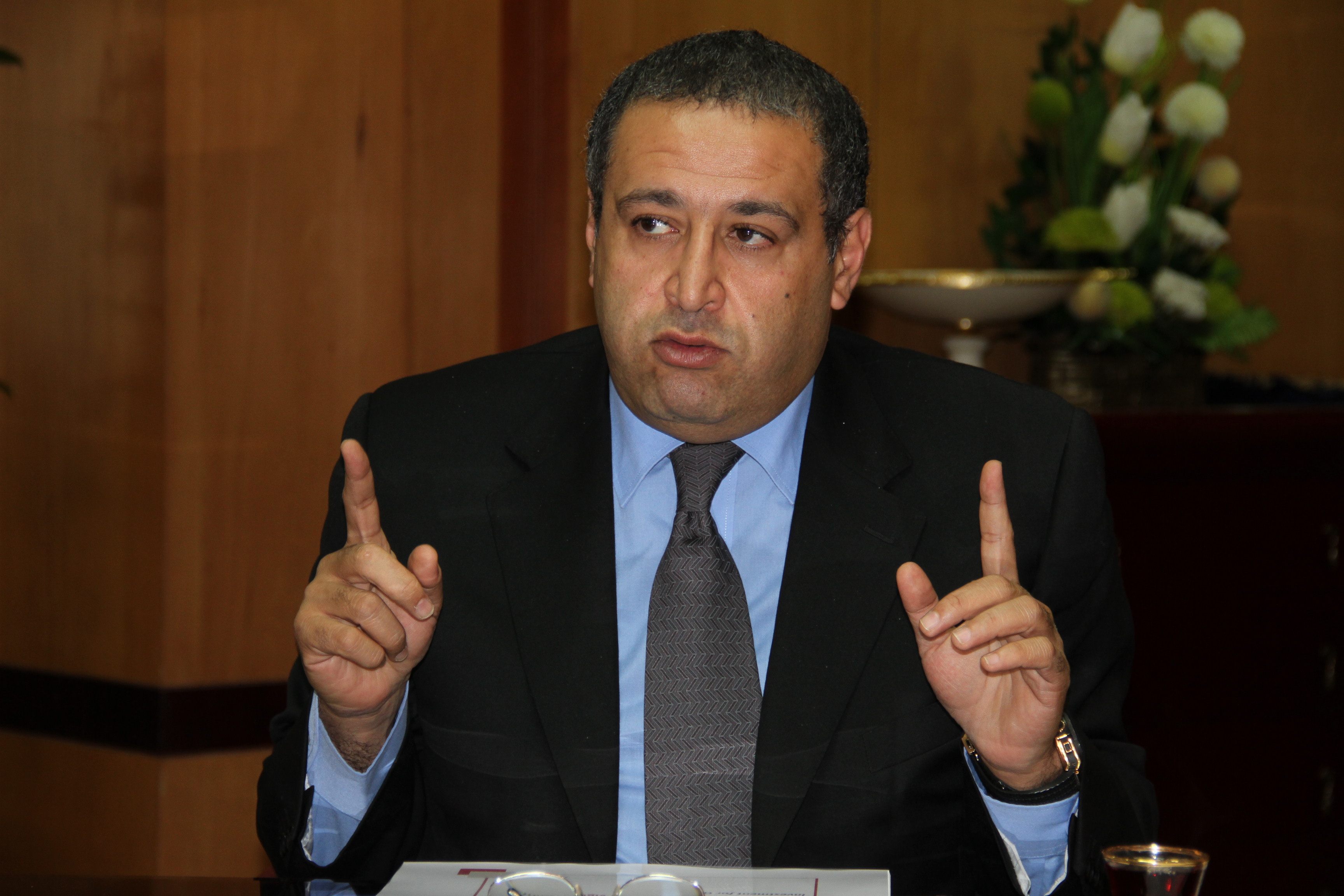 Minister of Investemen  Ashraf Salman (DNE Photo)