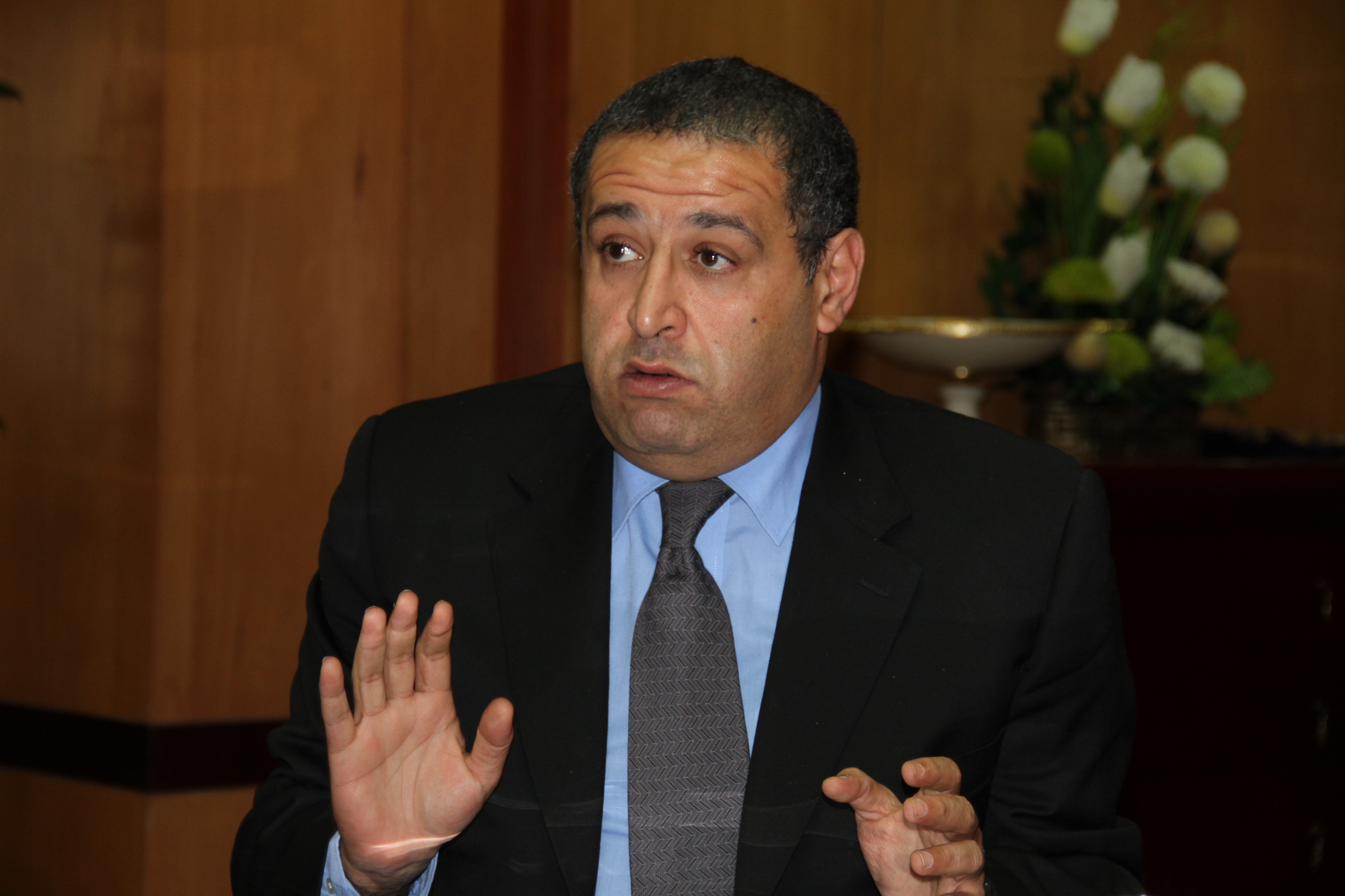 Investment Minister Ashraf Salman (DNE Photo)