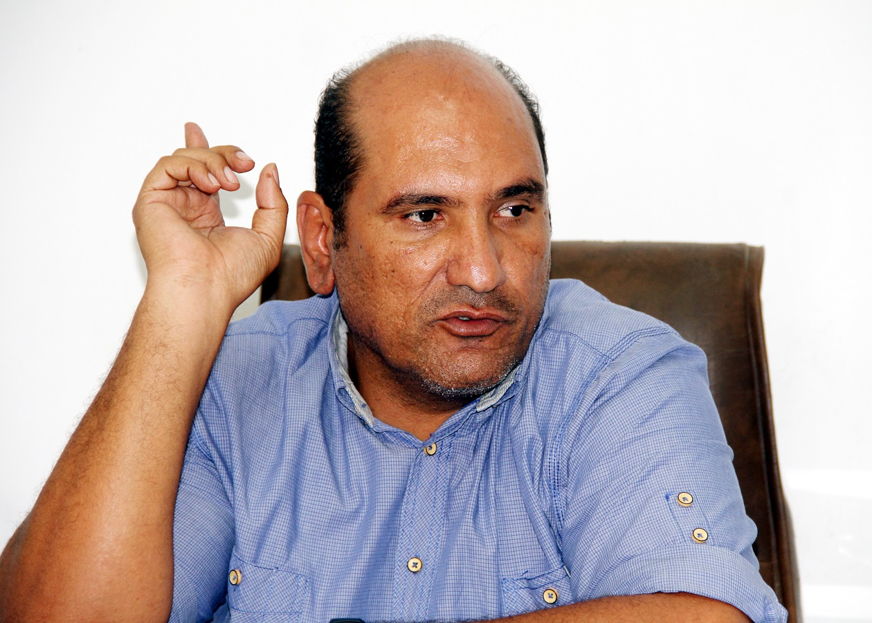 Director General of the Giza Plateau Ashraf Mohi  (DNE Photo)
