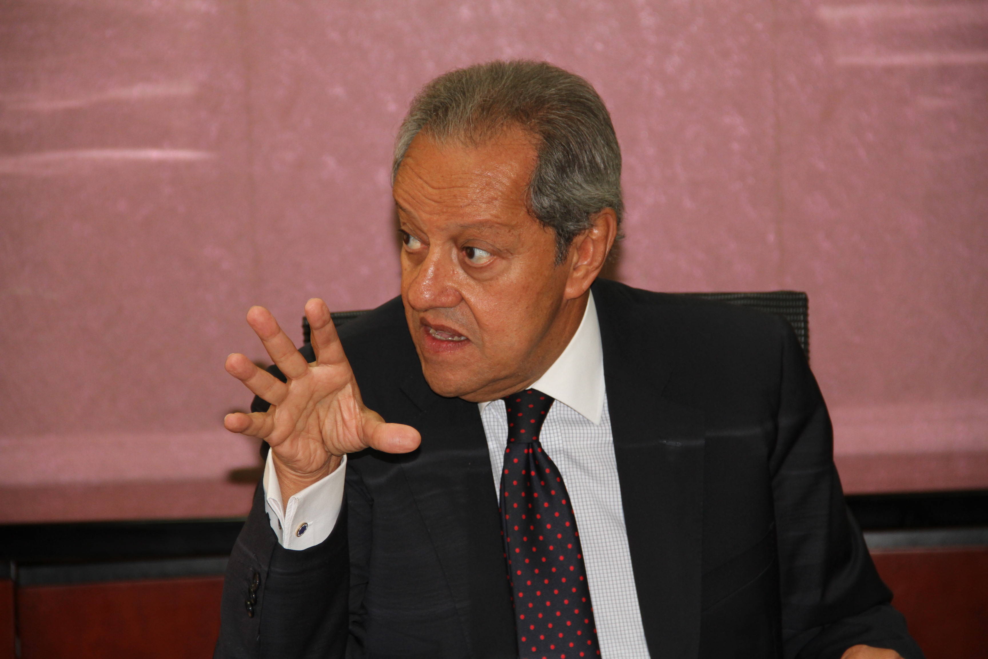Minister of Industry and Foreign Trade Mounir Fakhry Abdel Nour said that 1,645 final approvals from them are worth EGP 27.9bn in investments (DNE Photo)