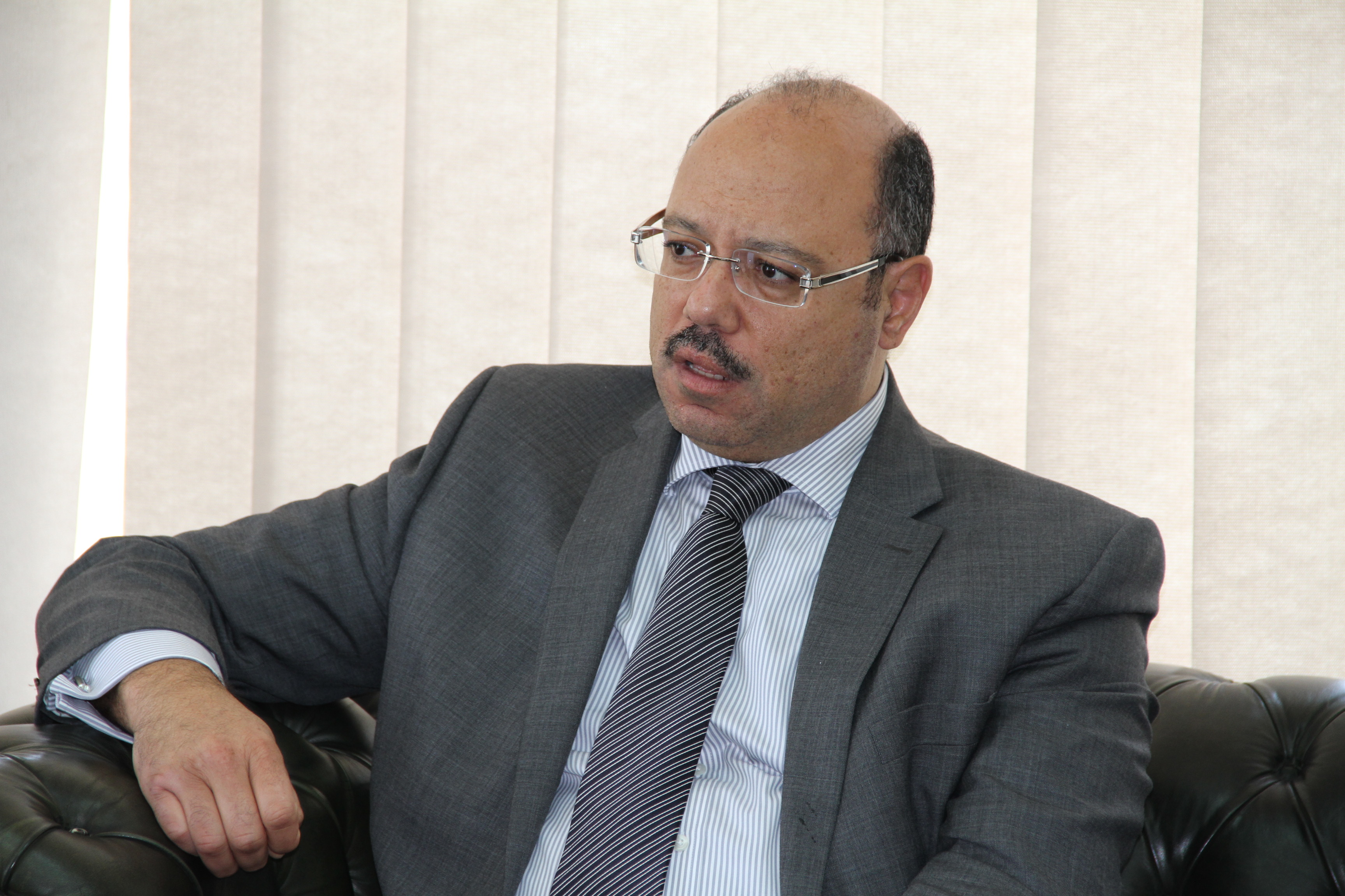 Minister of Finance Hany Kadry Dimian. (DNE Photo)
