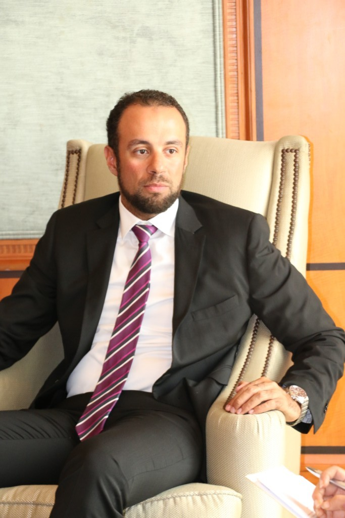 Daily News Egypt sat down with Moaaz Wessam, managing director at PACT Real Estate, to discuss the project's development and important issues that are affecting the company and real estate market.   (DNE Photo)