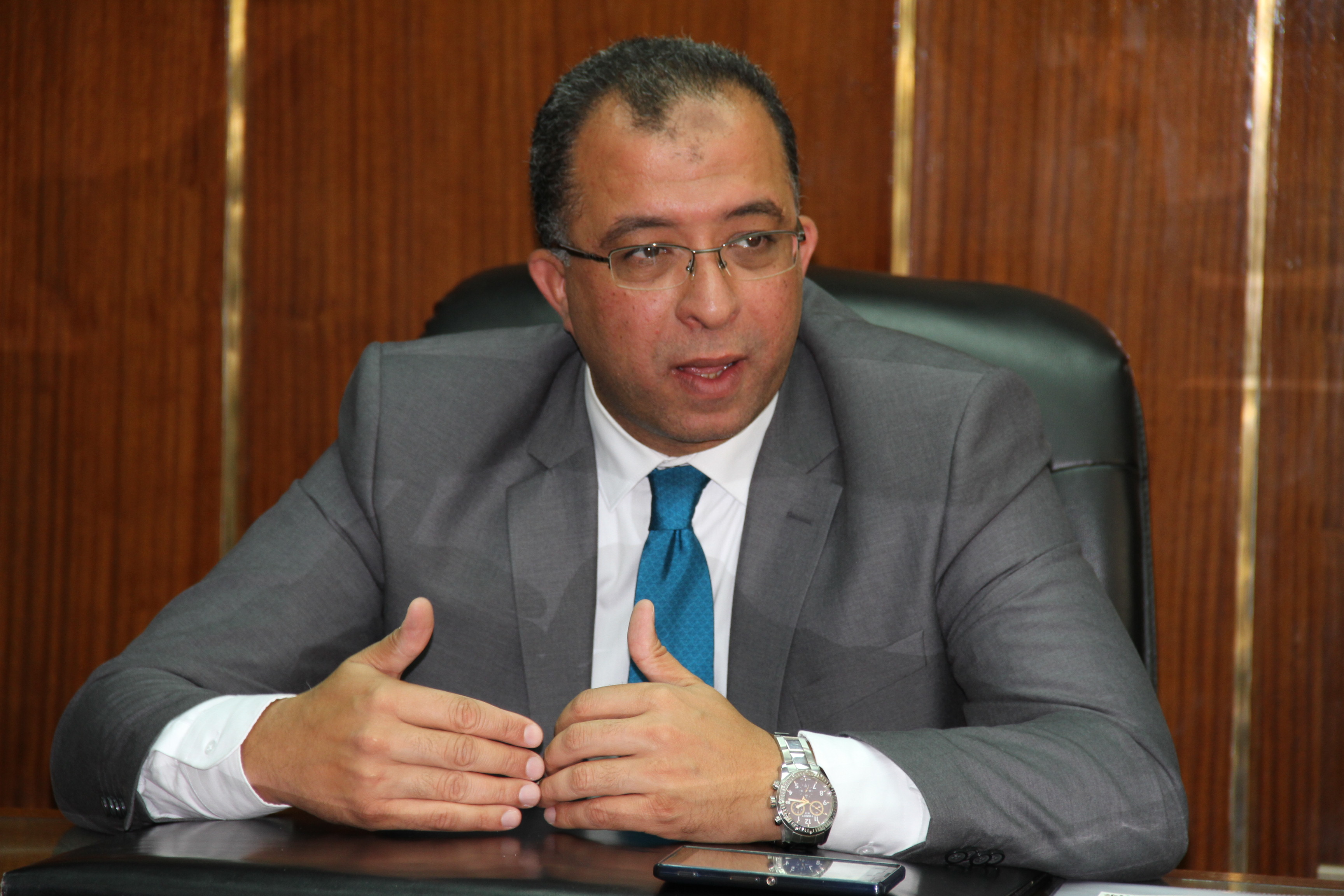 Ashraf El-Araby, Minister of Planning (DNE Photo)