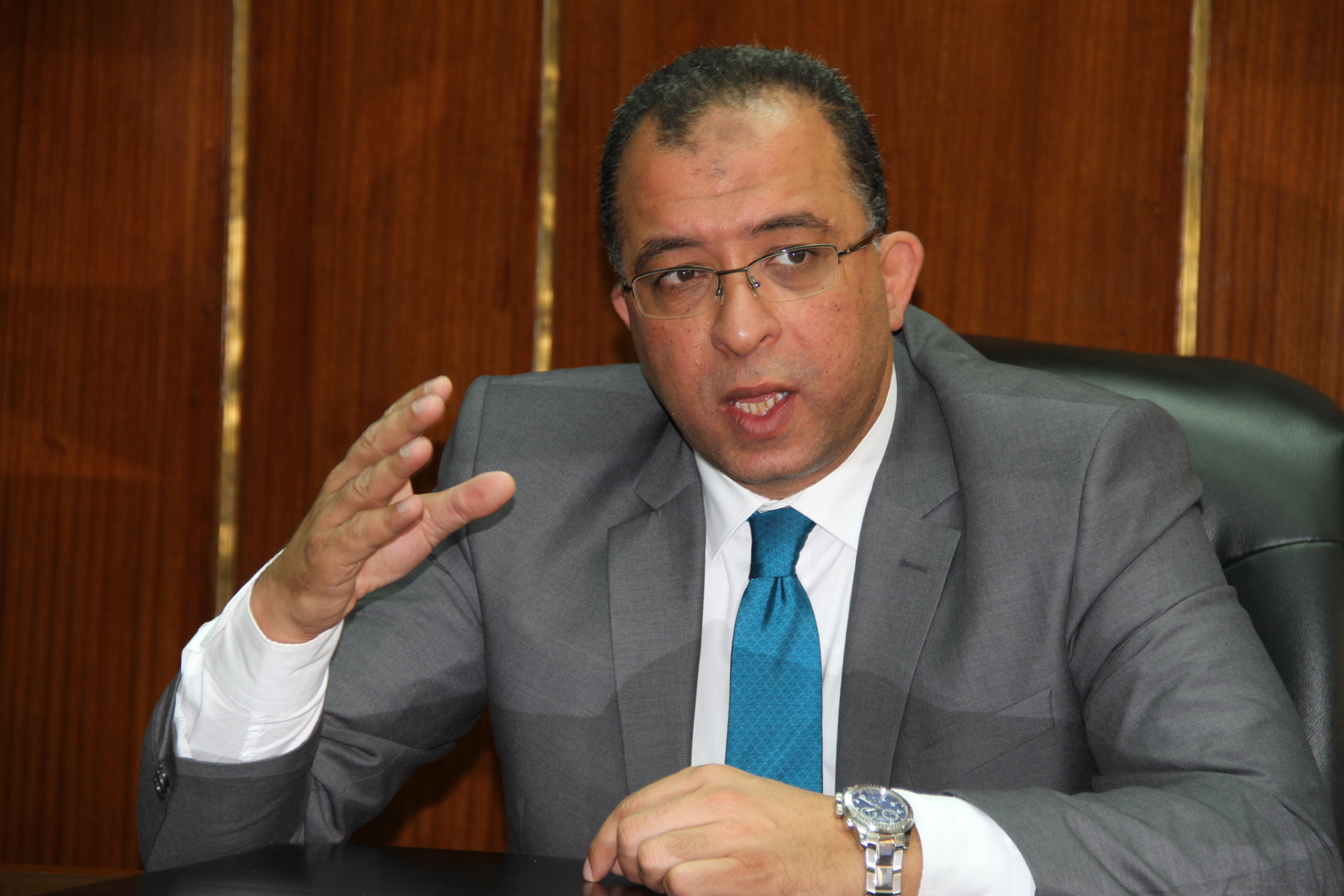 Minister of Planning Ashraf El-Araby. (DNE Photo)