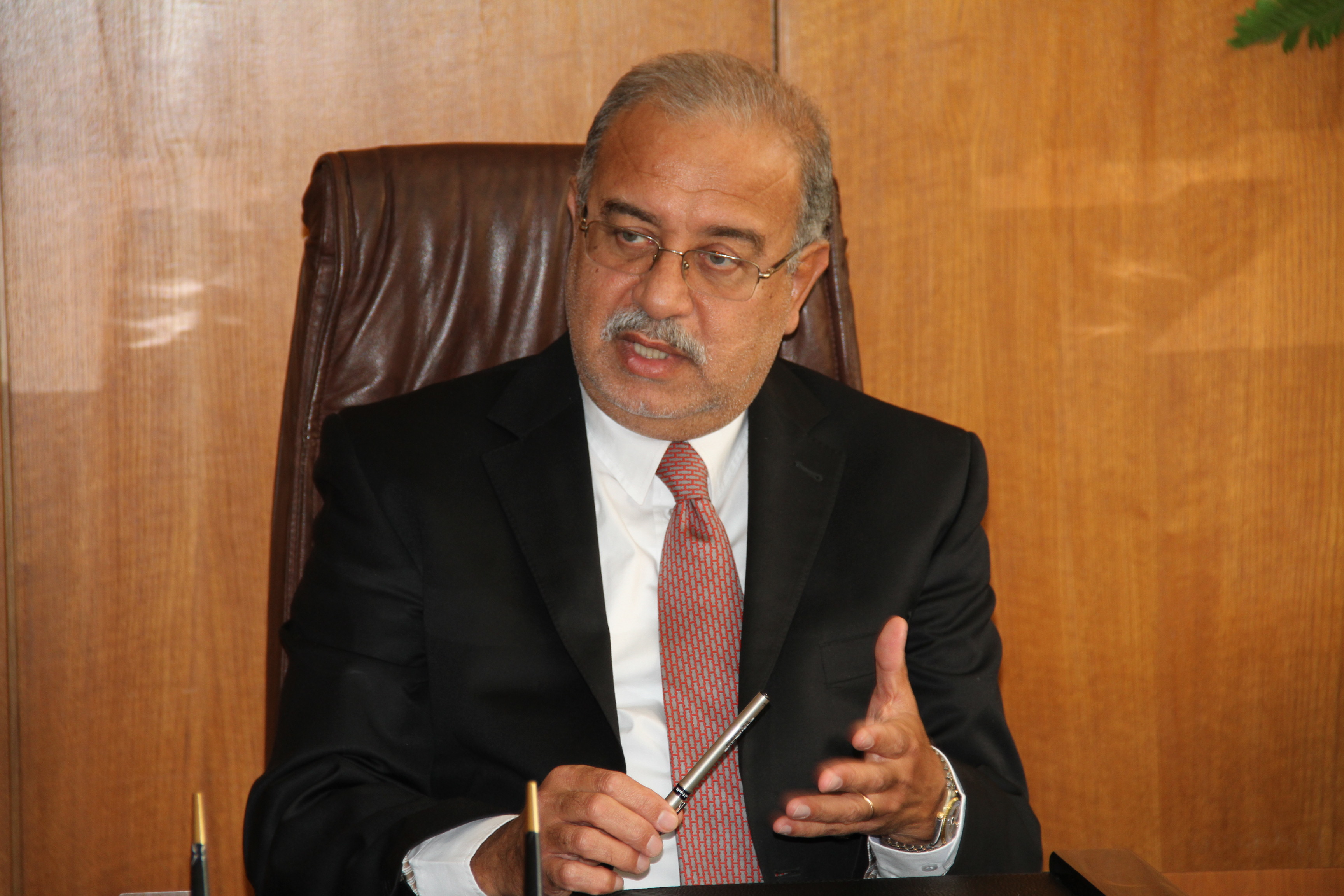 In an interview with Daily News Egypt, Petroleum Minister Sherif Ismail outlines the government's plan to stimulate investment in different sectors and solve obstacles faced by the state. (DNE Photo)