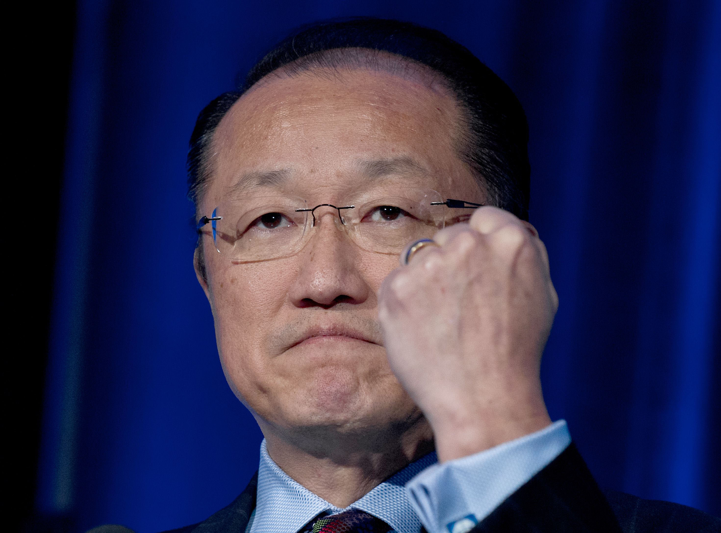 World Bank Group president Jim Yong Kim (AFP Photo)