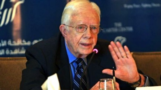 Former United States President Jimmy Carter (AFP Photo)