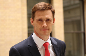 British Ambassador to Egypt John Casson (Photo from UK Embassy in Egypt)