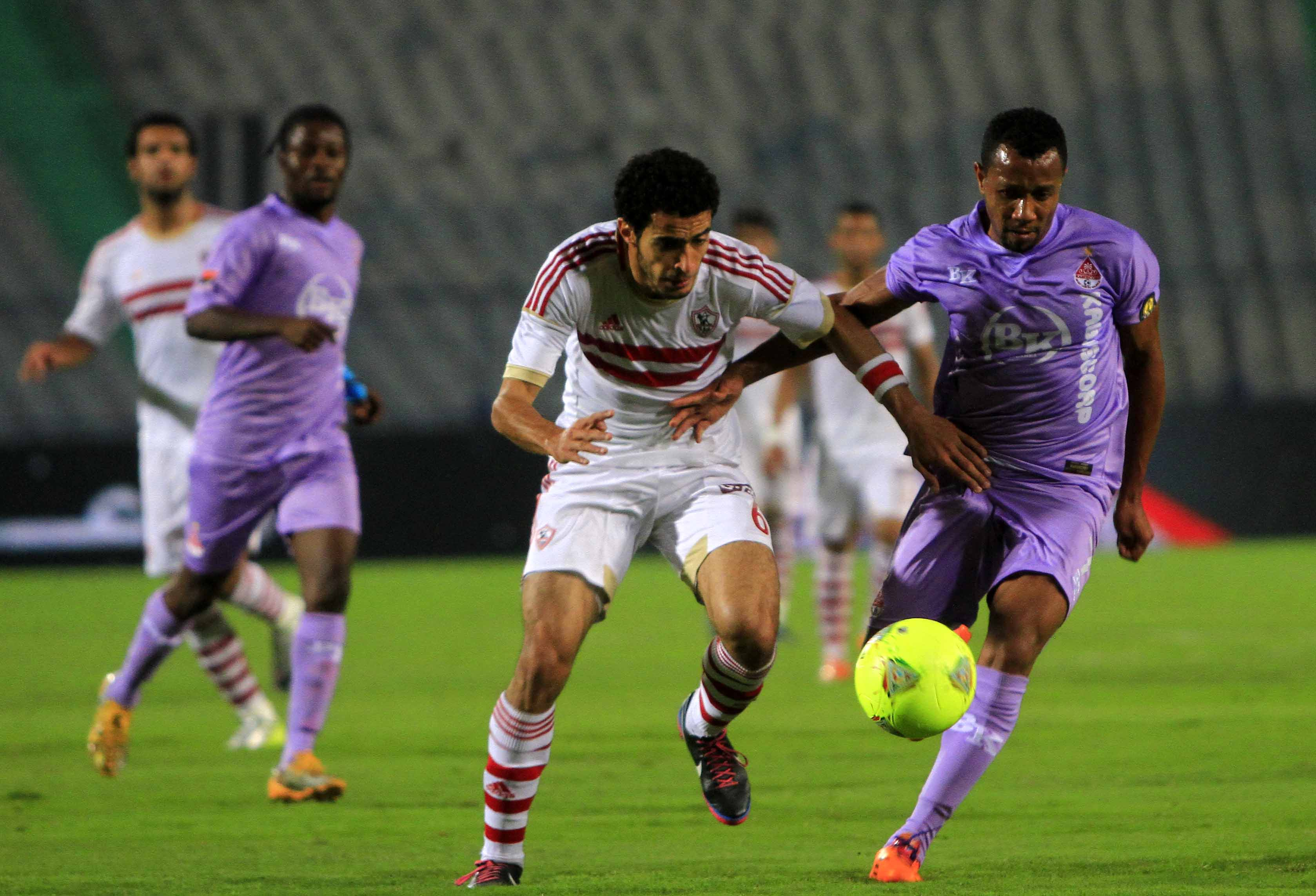 Zamalek beat Angolan side Kabuscorp 1-0, a score-line that recently appointed Zamalek coach Ahmed Mido believes they can improve on in the upcoming second-leg in Angola, scheduled for Friday (Photo by Ahmed Al-Malky)