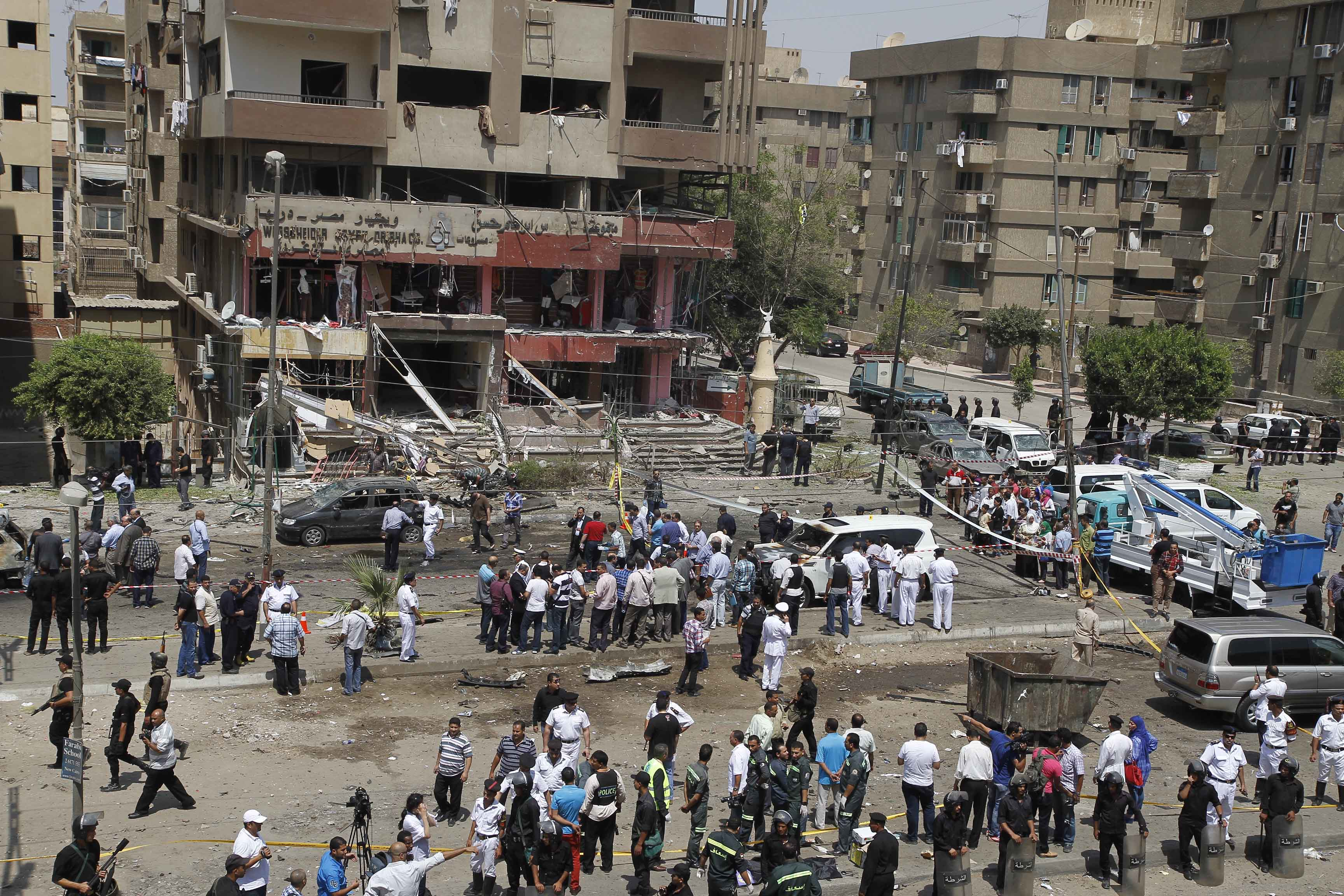 The blast injured a total of 21 people