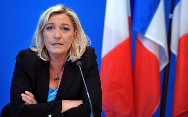 French nationalist leader Marine Le Pen  (AFP Photo)