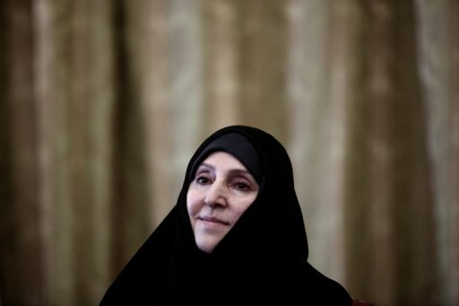 Iranian Foreign Ministry spokeswoman Marzieh Afkham (AFP Photo)