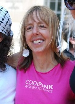 Medea Benjamin, an American peace activist and co-founder of the grassroots peace and social justice movement CODEPINK (Photo Public Domain)