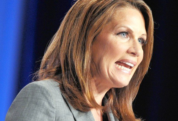Conservative American congresswoman and Tea Party member Rep. Michelle Bachmann  (AFP Photo)