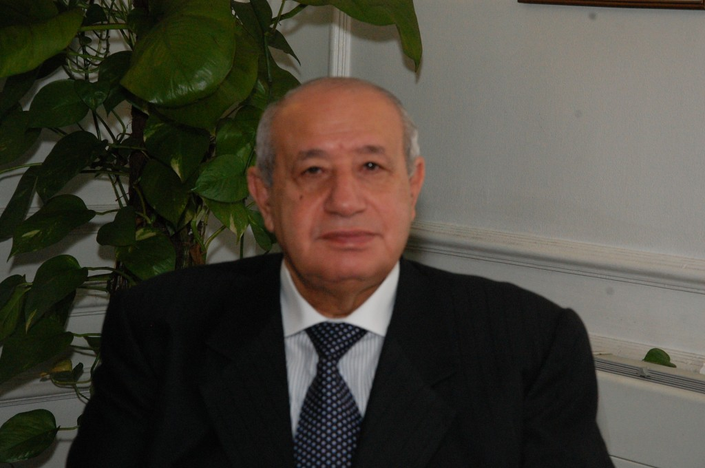 Minister of Supply Mohamed Abu Shady  (Photo from Al-Borsa News)