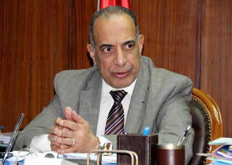 Justice Minister Mahfouz Saber. (Photo by Nagi Yossef)