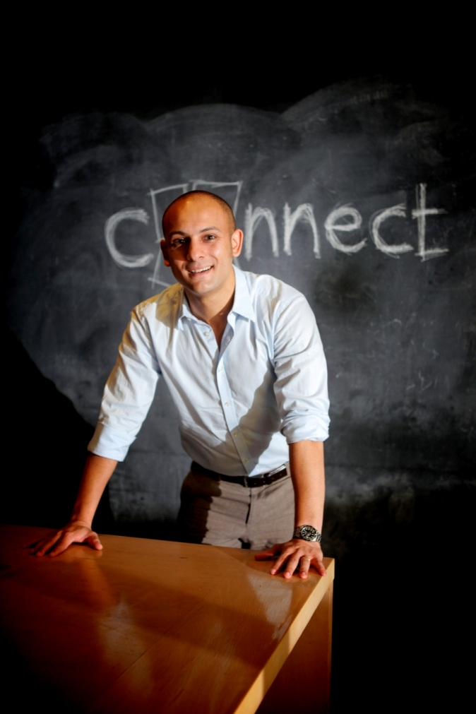 Managing director of Connect Ads Mohamed El Mehairy (Photo Courtesy of Connect Ads)