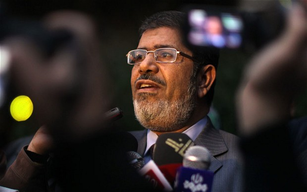 Ousted President Mohamed Morsi  (AFP Photo)