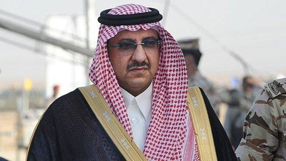 Former Dfence and incumbent Interior Minister bin Nayef will be the first grandson of the founding king Abdul Aziz to lead the kingdom, if the current line of succession remains unchanged. (AFP File Photo)
