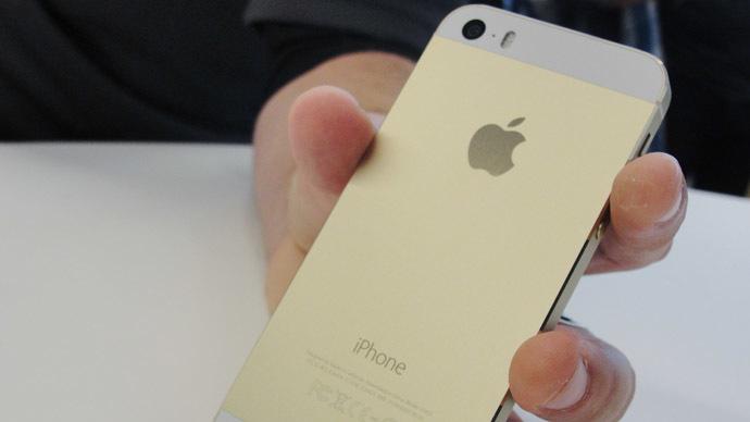Apple iPhone 5S  (AFP Photo/Glenn Chapman)