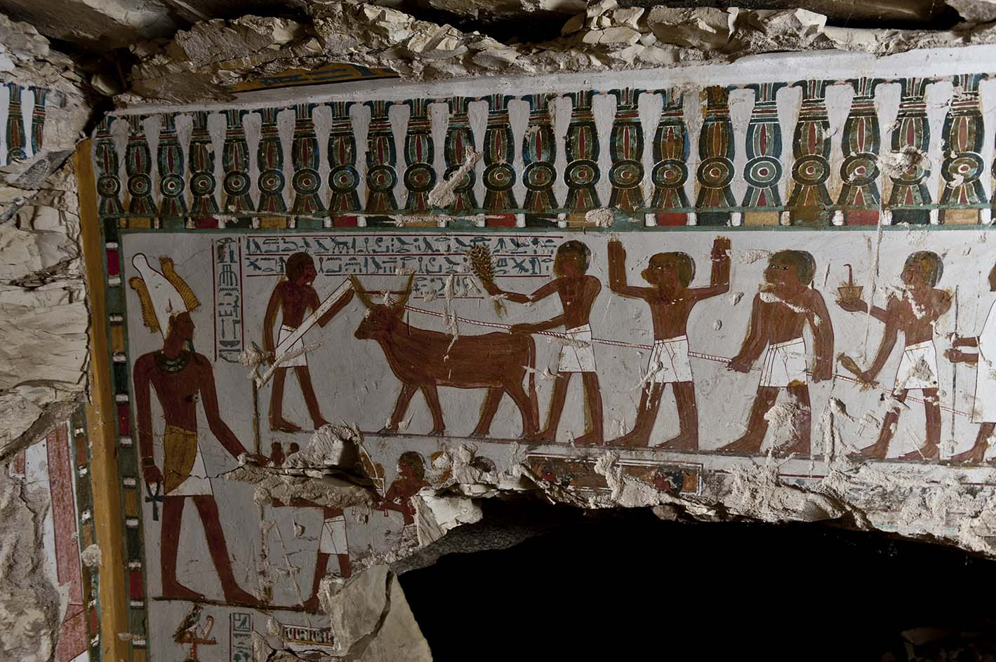 New tomb discovered in Qurna (Photo from Ministry of Antiquities)