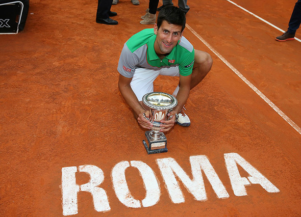 The victory boosted Djokovic's opportunities to top the rank of professional tennis players by adding 1,000 points to his name, reaching 14,845 points. This is Djokovic's fifth title this year among the ATP World Tour competitions.
