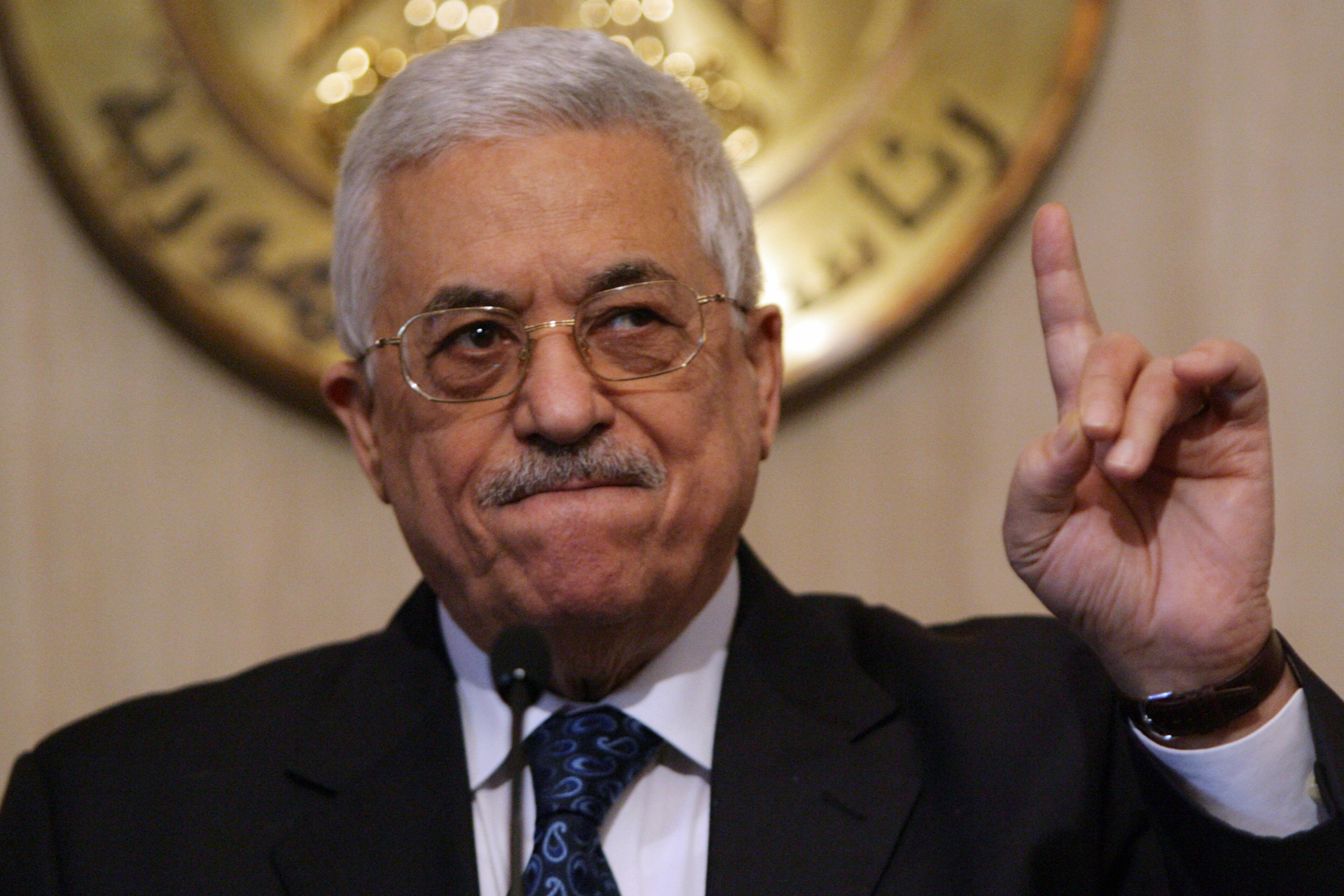 Palestinian president Mahmoud Abbas stressed on Saturday his respect for the will of the Egyptian people, as well as Palestinian support for the army roadmap. (AFP File Photo)