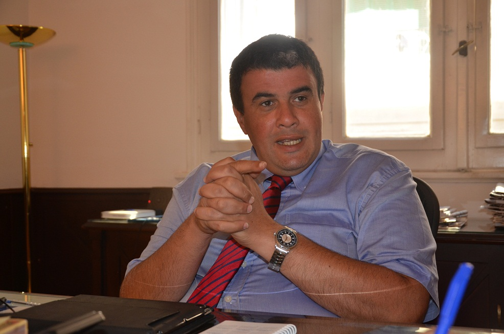 Hamid Mabrook, Managing director of Gras Savoye Masr . (Photo by Amany Kamal)