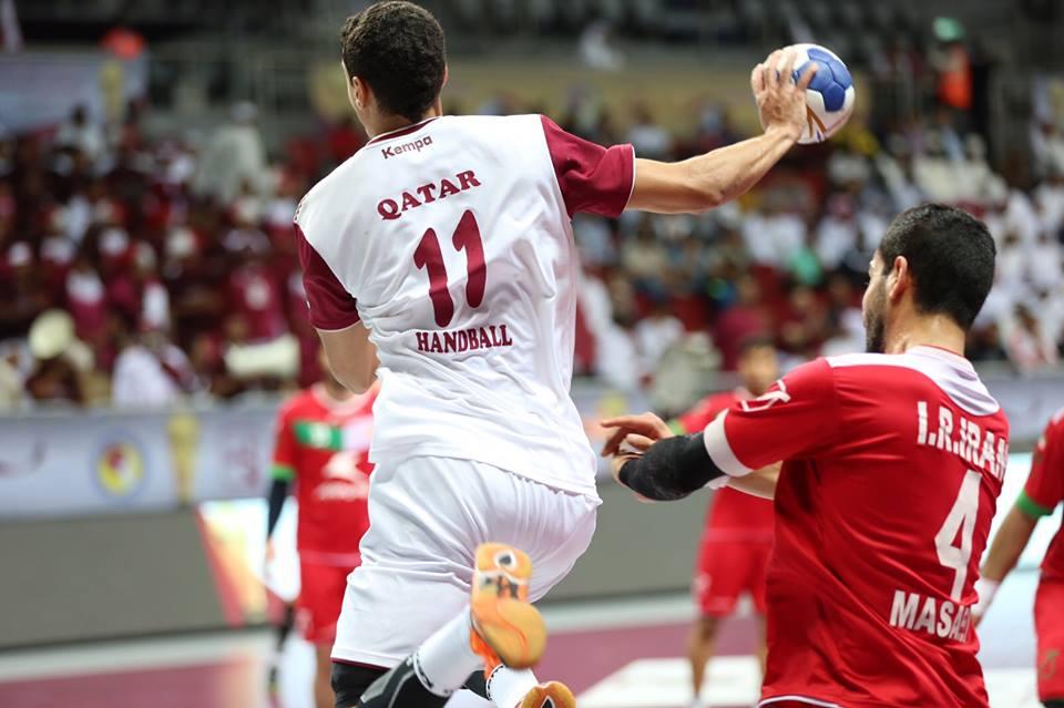 Qatari handball team achieved historic victory over Iranian counterpart