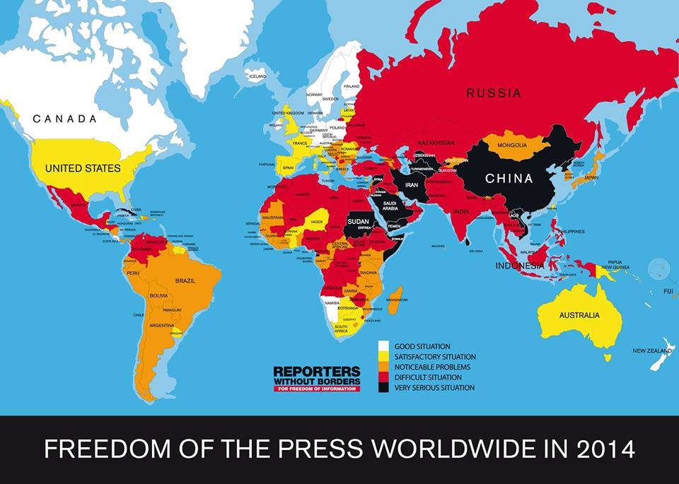 Reporters Without Borders Press Freedom