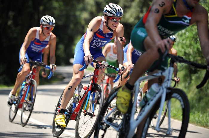 Russian Dmitry Polyanskiy won first place in the elite men's category at the two-day African and Pan-Arab Sprint Triathlon held in Sharm El-Sheikh by the African Triathlon Union. (Photo from triathlon)