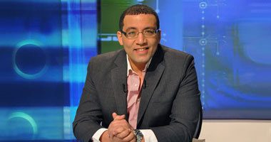 Al-Youm Al-Sabaa editor in chief Khaled Salah. (Photo courtesy of his official Twitter account)