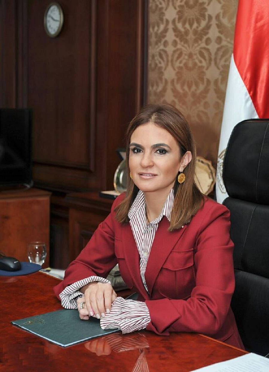 Minister of International Cooperation Sahar Nasr