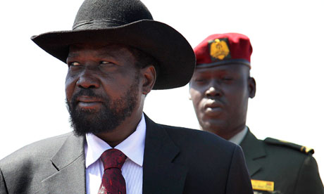 South Sudan president Salva Kiir  (AFP Photo)