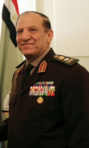 Former Chief of Staff of the Armed Forces Sami Anan (Khaled Desouki, AFP/Getty Images)