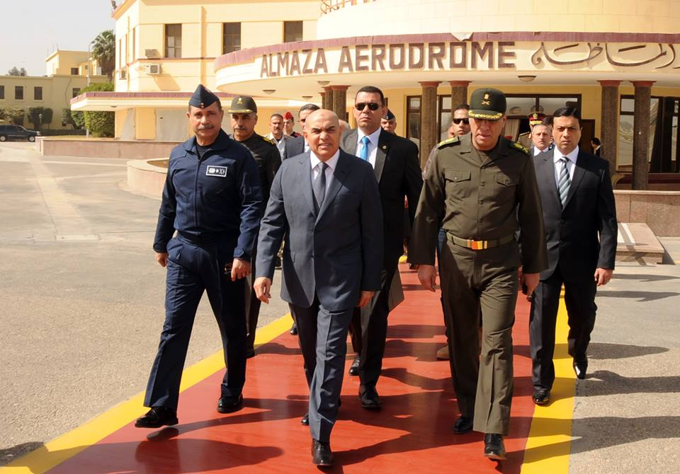 "Defence Minister Sedki Sobhi left Saturday for the Russian capital Moscow, leading a high army delegation in an official visit to hold ""important negotiations"" with high Russian army officials. (Photo Armed Forces Handout)"